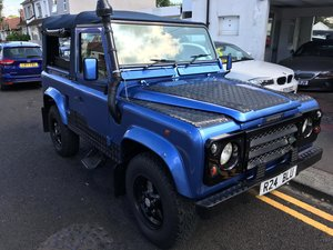 1997 Land Rover Defender 90 2.5 TDi Convertible For Sale