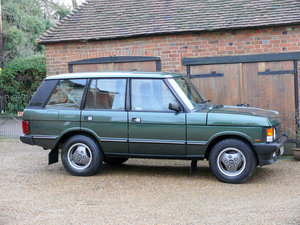 1995 Range Rover Vogue Classic 3.9 V8  For Sale