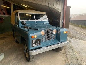 1962 Land Rover® Series 2a *MOT & Tax Exempt* (MSL) RESERVED For Sale