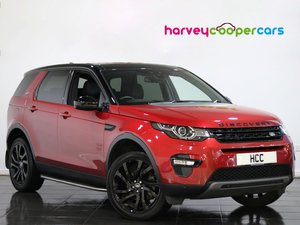 2017 Land Rover Discovery Sport 2.0 TD4 180 HSE Black 5dr Auto SOLD