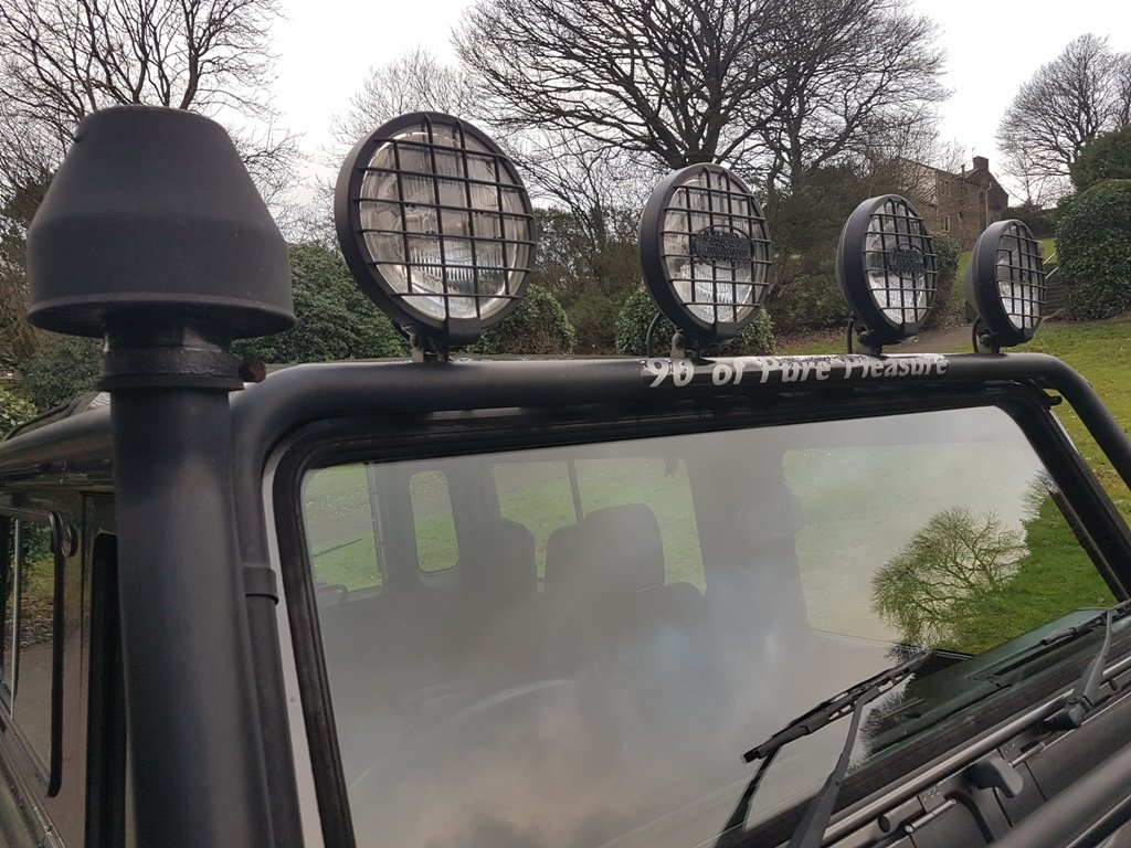 2002 2001 LAND ROVER DEFENDER 90 TD5 TOMB RAIDER For Sale (picture 6 of 6)