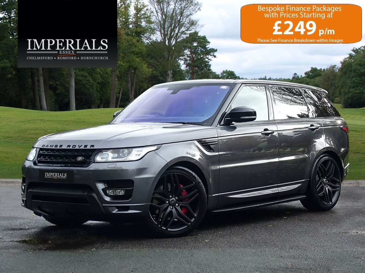 2015 Land Rover  RANGE ROVER SPORT  4.4 SDV8 AUTOBIOGRAPHY DYNAMI For Sale (picture 1 of 24)