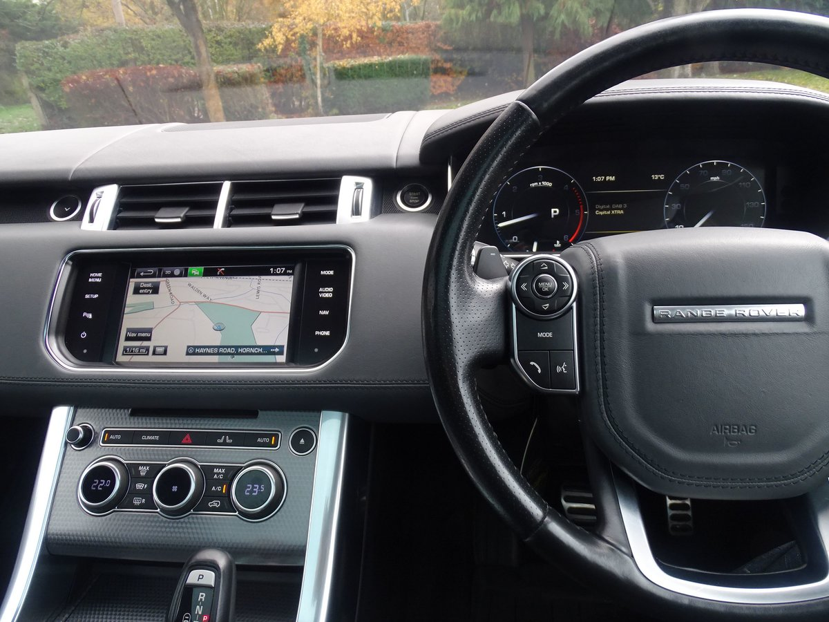 2015 Land Rover  RANGE ROVER SPORT  4.4 SDV8 AUTOBIOGRAPHY DYNAMI For Sale (picture 8 of 24)
