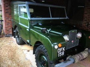 1956 Landrover series1 For Sale