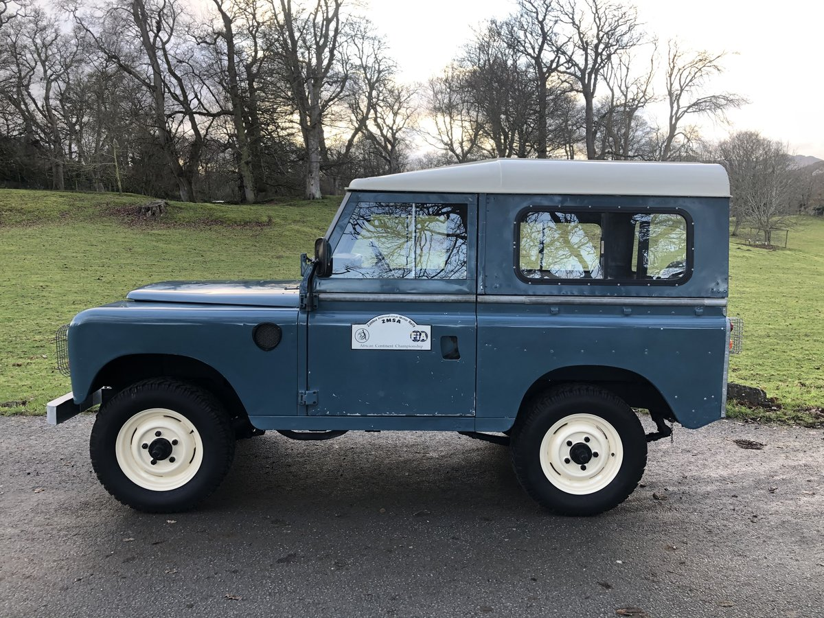 "1981 Land Rover Series 3 88"" Hardtop For Sale (picture 1 of 6)"