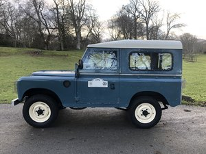 "1981 Land Rover Series 3 88"" Hardtop"