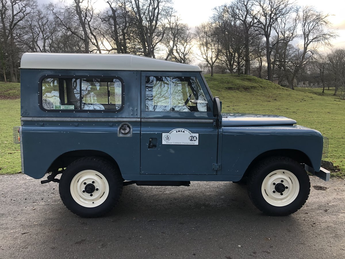 "1981 Land Rover Series 3 88"" Hardtop For Sale (picture 2 of 6)"