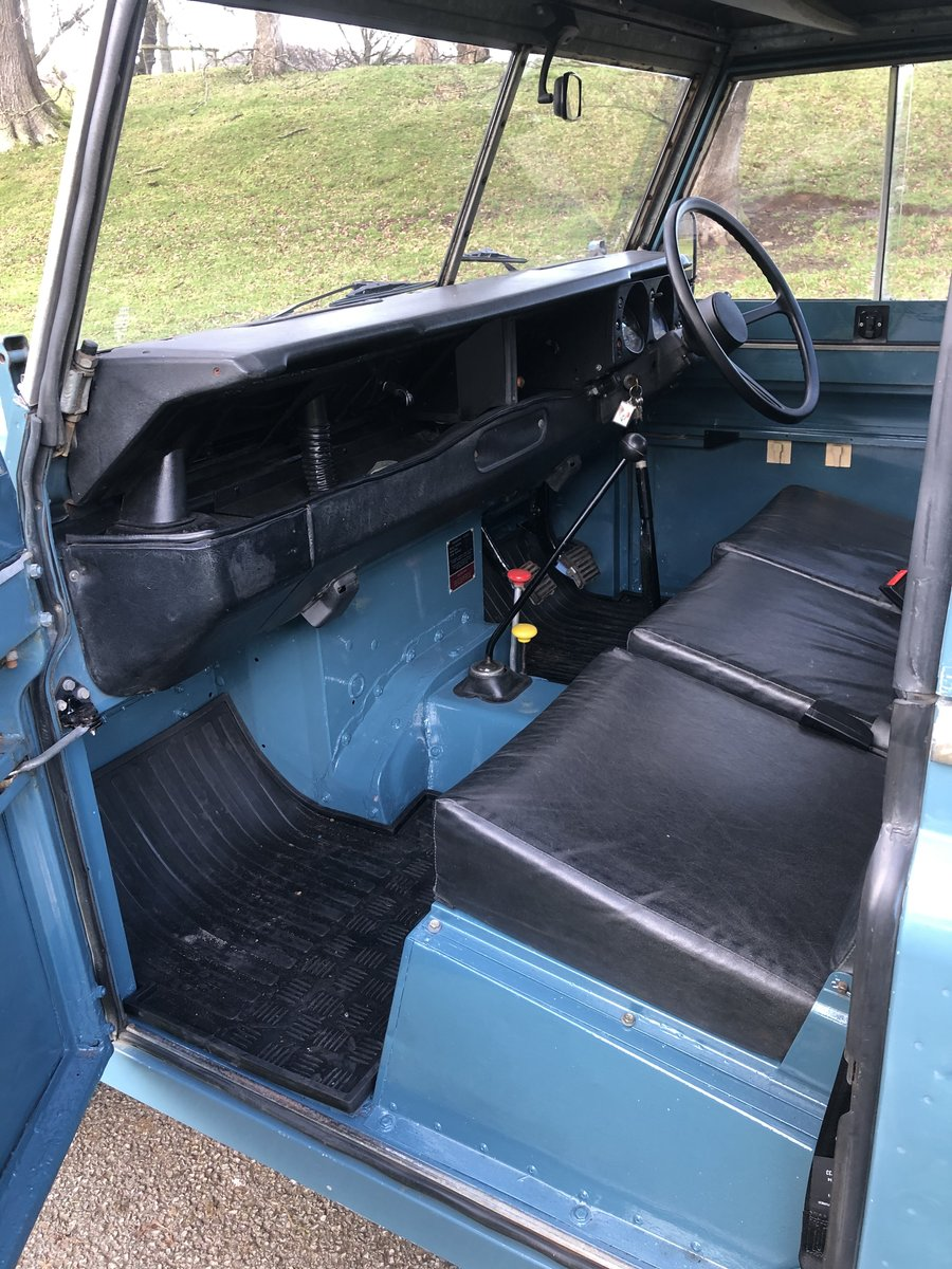 "1981 Land Rover Series 3 88"" Hardtop For Sale (picture 6 of 6)"