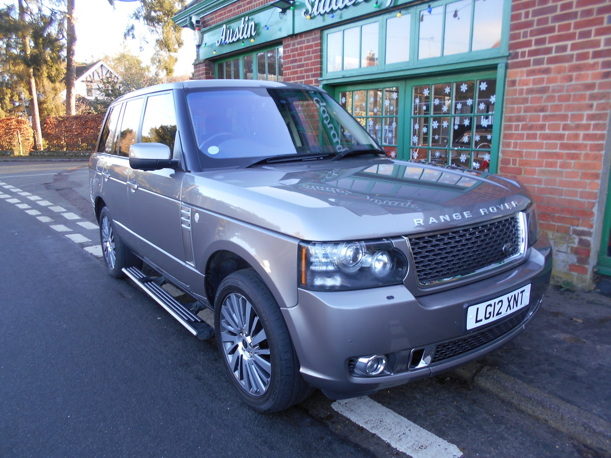 2012 Range Rover Autobiography Ultimate Edition  For Sale (picture 2 of 5)