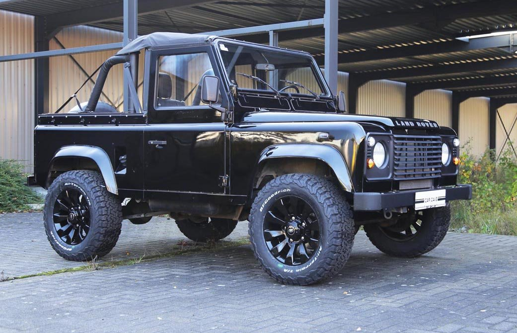 1987 Land-Rover Defender 90 V8 17 Jan 2020 For Sale by Auction (picture 1 of 6)