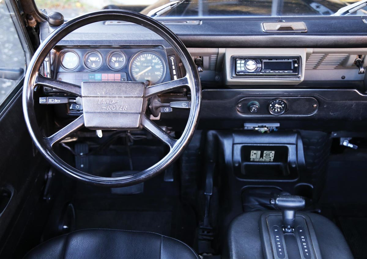 1987 Land-Rover Defender 90 V8 17 Jan 2020 For Sale by Auction (picture 5 of 6)