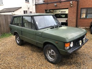 1981 Range Rover Classic 2 Door 3.5V8 LHD For Sale