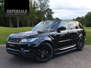 2016 Land Rover  RANGE ROVER SPORT  3.0 SDV6 HSE 8 SPEED AUTO 201 For Sale