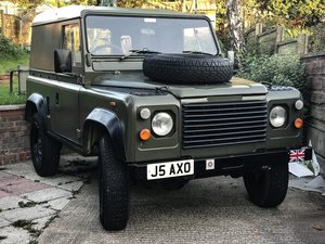1993 Land Rover Defender 90 2.5na ex-military For Sale