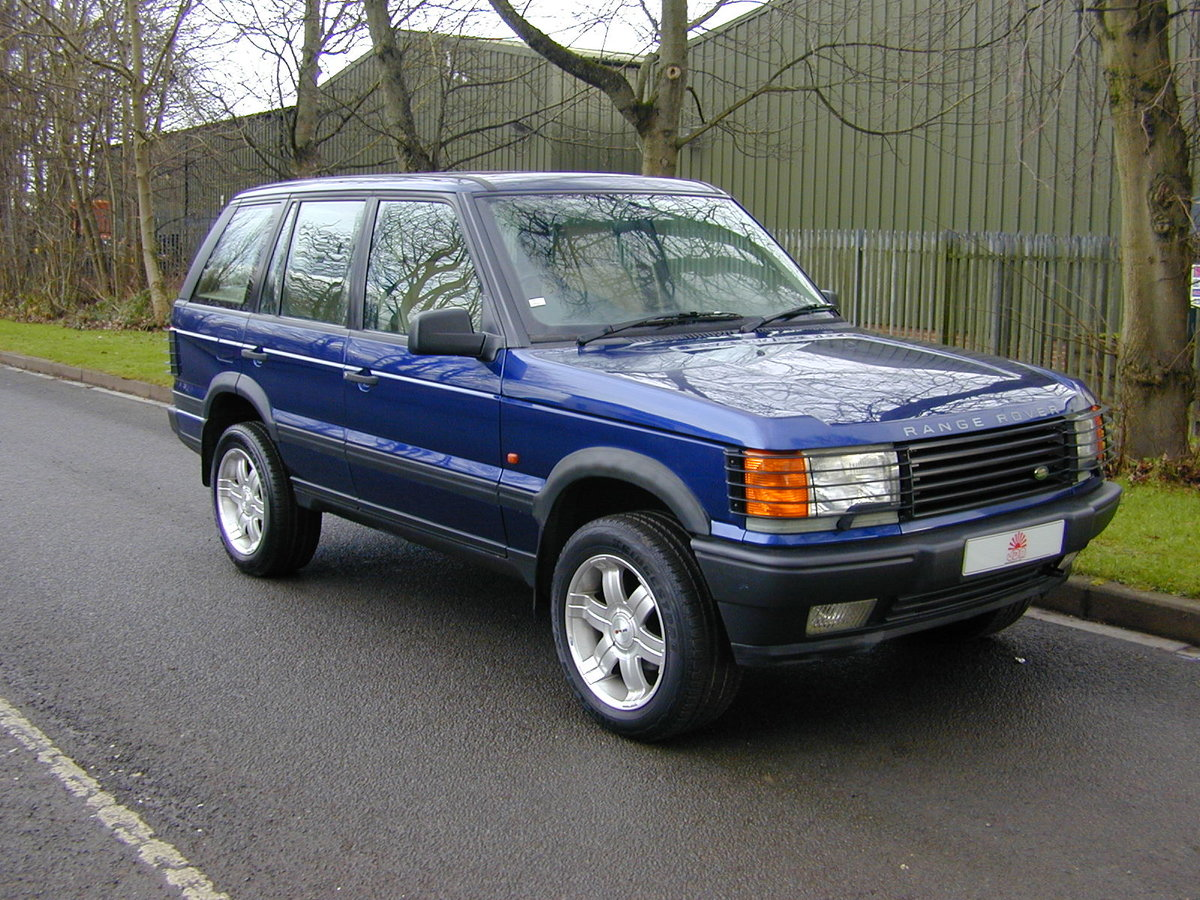 1996 RANGE ROVER P38 4.6 HSE - RHD - LOW MILES - EX JAPAN! For Sale (picture 1 of 6)