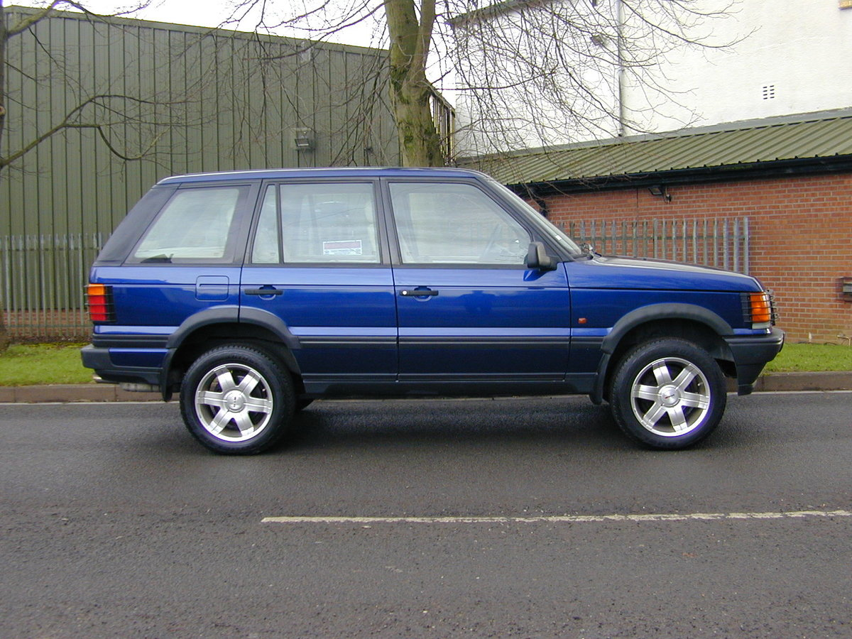 1996 RANGE ROVER P38 4.6 HSE - RHD - LOW MILES - EX JAPAN! For Sale (picture 2 of 6)