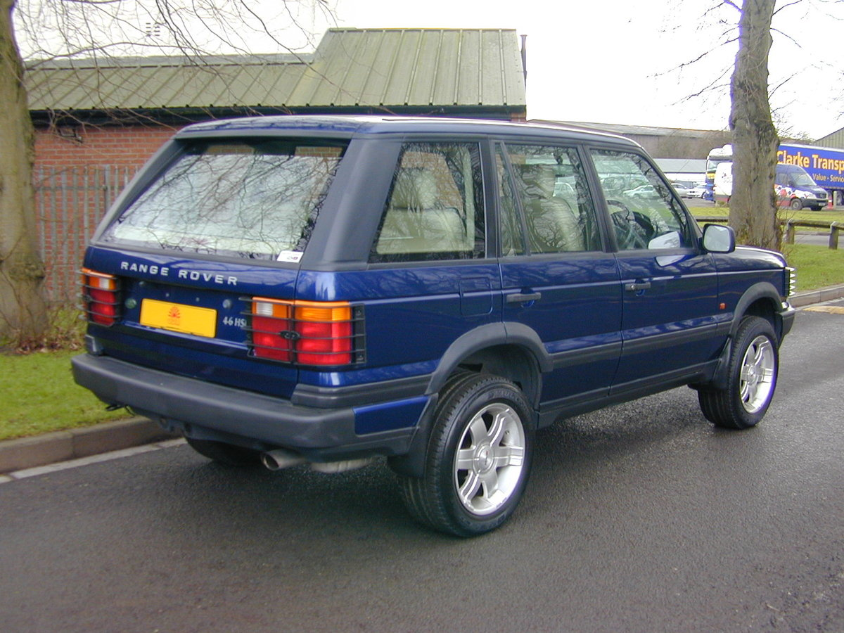 1996 RANGE ROVER P38 4.6 HSE - RHD - LOW MILES - EX JAPAN! For Sale (picture 3 of 6)