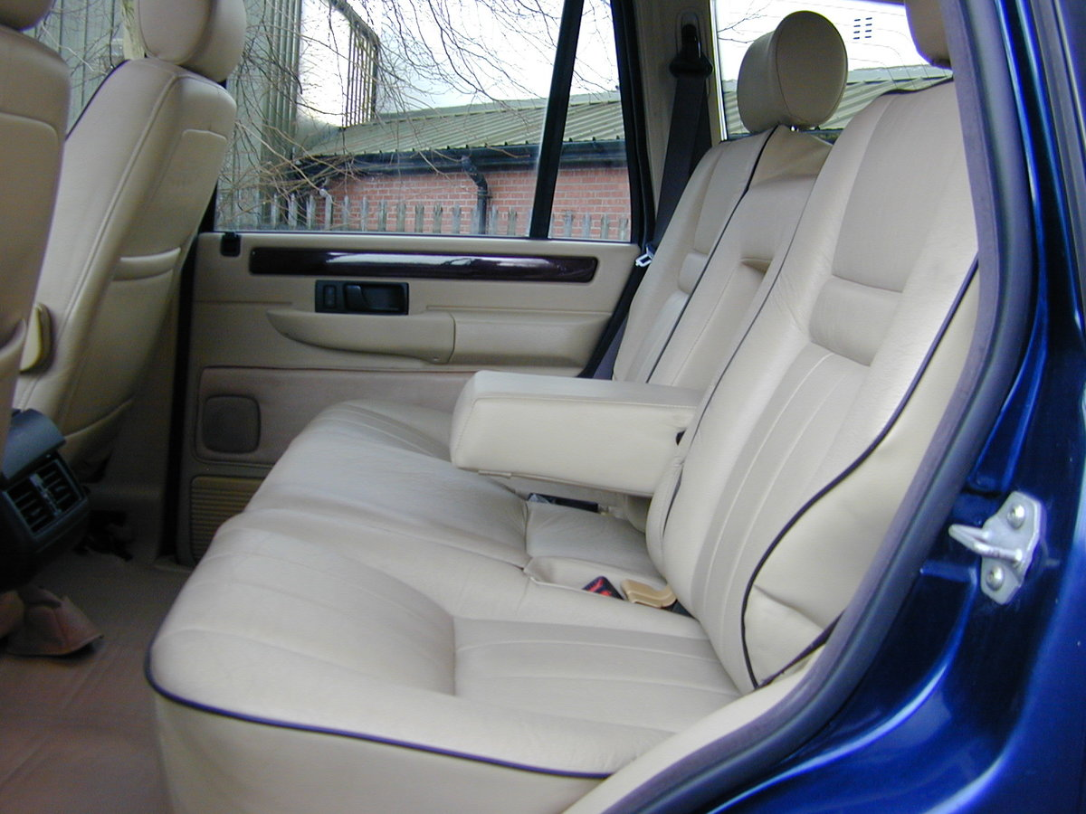 1996 RANGE ROVER P38 4.6 HSE - RHD - LOW MILES - EX JAPAN! For Sale (picture 5 of 6)
