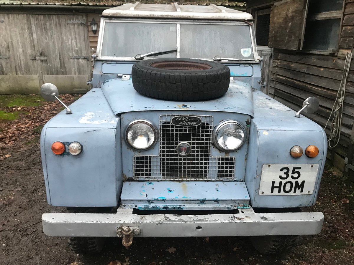 1963 Land Rover Series 2a IIa 88 SOLD (picture 1 of 6)