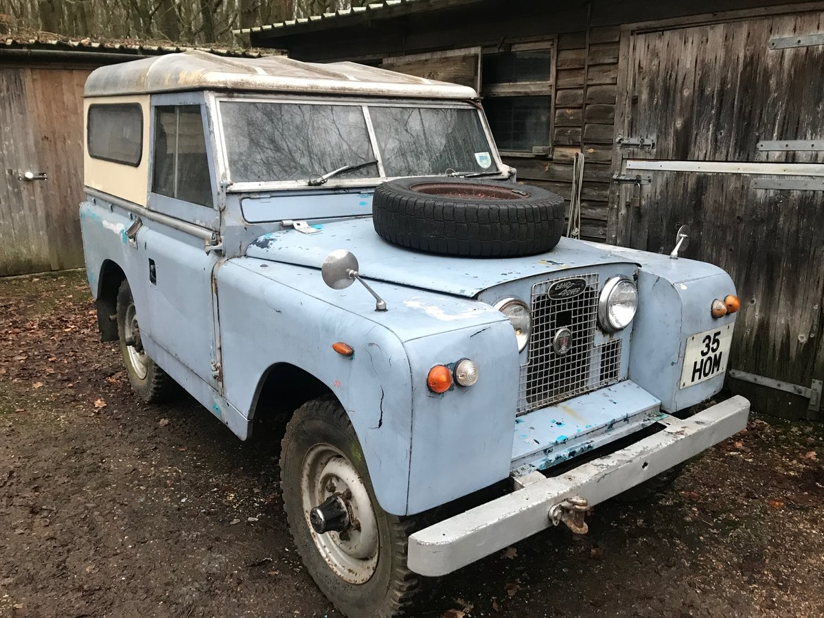 1963 Land Rover Series 2a IIa 88 For Sale (picture 2 of 6)
