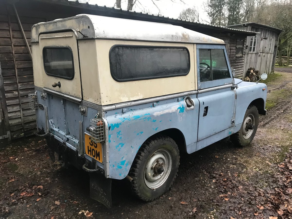 1963 Land Rover Series 2a IIa 88 For Sale (picture 3 of 6)