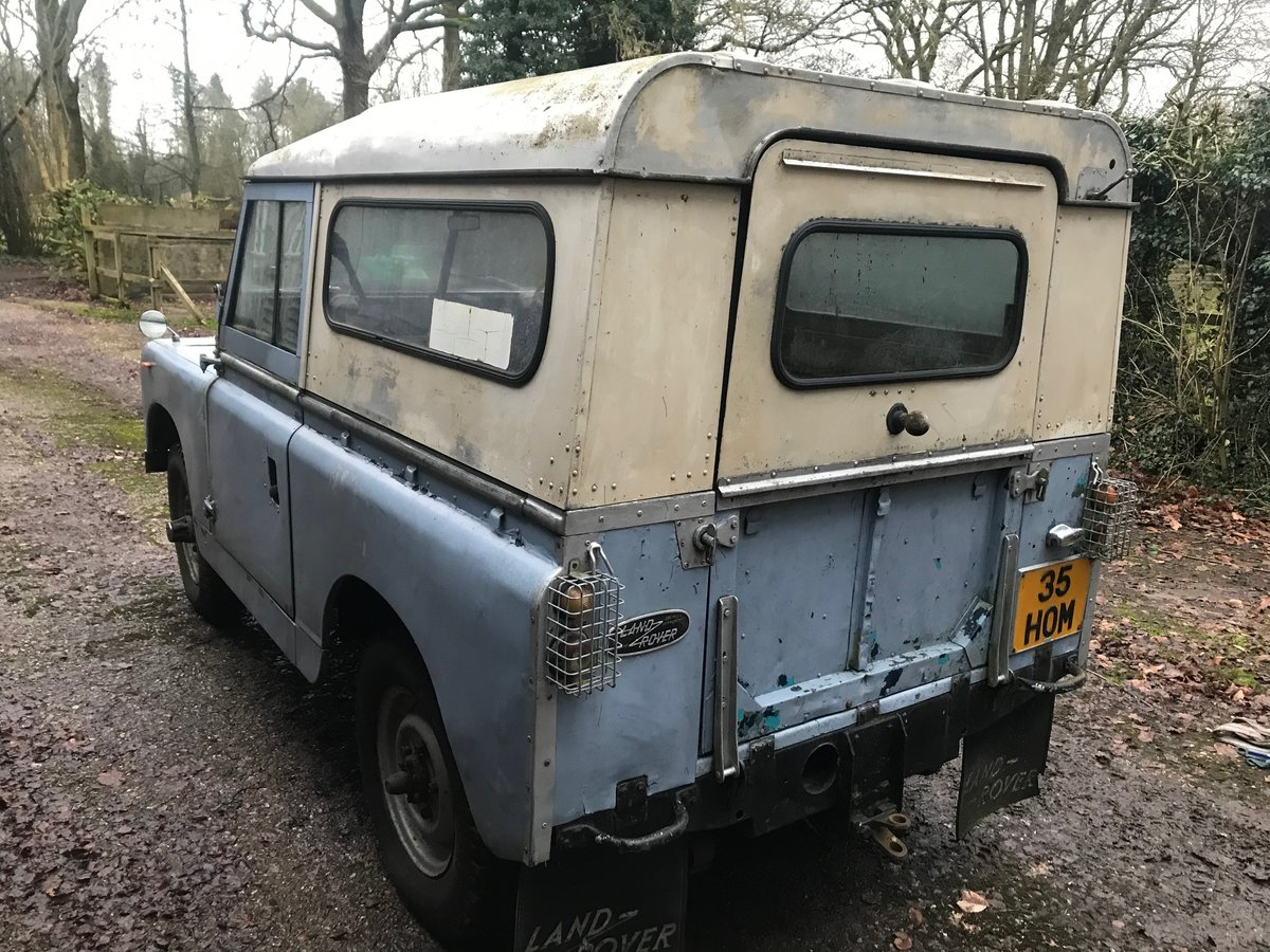 1963 Land Rover Series 2a IIa 88 For Sale (picture 4 of 6)