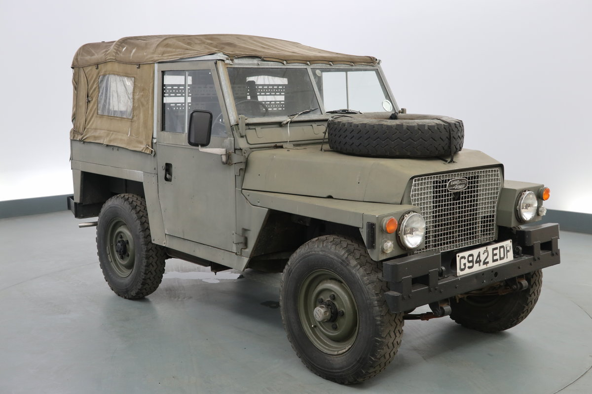 1989 Landrover lightweight 2.3 Military ( NON UK ) pet For Sale (picture 1 of 6)