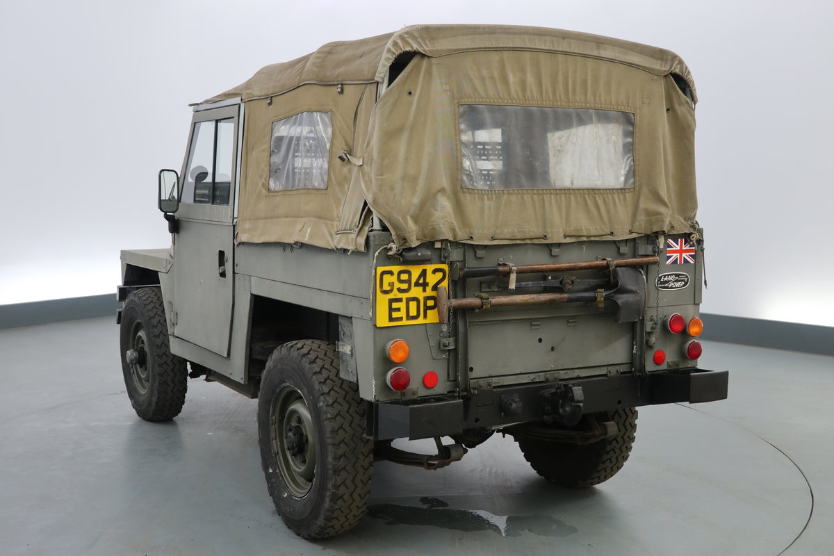 1989 Landrover lightweight 2.3 Military ( NON UK ) pet For Sale (picture 3 of 6)