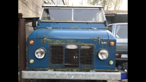 1970 Landrover FC 101 unfinished project