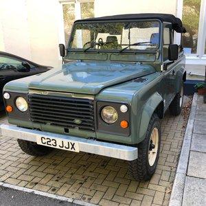 1985 Land Rover 90 2.5 petrol exportable