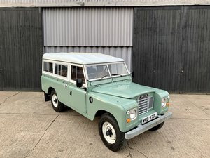 Stunning 1972 Land Rover Series III 109  **Restored**  SOLD