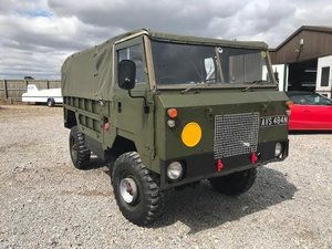 1975 Land Rover® 101 in Drab Olive (AVS) For Sale