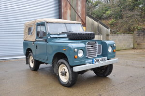 1973 Land Rover Series 3 88 Restored Galvanised Chassis SOLD
