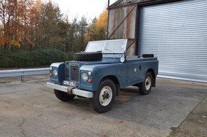 1971 Land Rover Series 2A Marine Blue Soft Top Petrol
