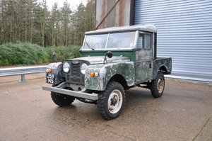 1955 Land Rover Series 1 Petrol Interesting Paint SOLD