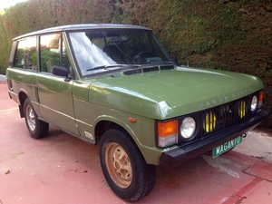 Picture of 1981 LHD Range Rover Classic 2 Door 3.5 V8 in Spain SOLD