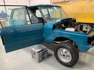 1980 Range Rover Classic 2-Door 3.5 V8 Manual RHD