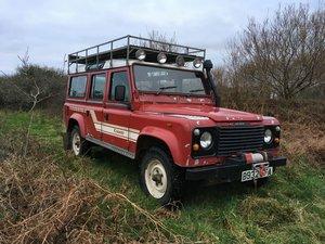 1984 Land Rover One-Ten CSW 110 defender