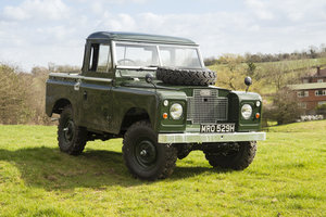 "1969 Land Rover Series 2A 88"" only 5974 miles from new! SOLD"