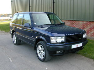 2002 RANGE ROVER P38 4.6 ROYAL EDITION - RHD - EX JAPAN!! For Sale