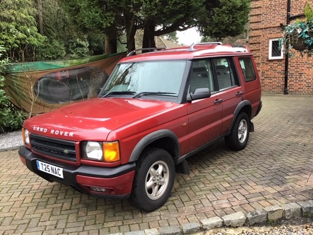 2000 Land Rover Discovery V8i GS Automatic Estate 4x4 SOLD (picture 1 of 6)