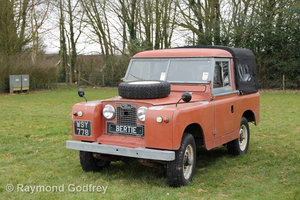 Land Rover Series 2 ex-Fire Truck