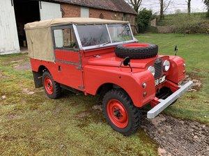 Professionally Restored Ex Fire Tender Land Rover