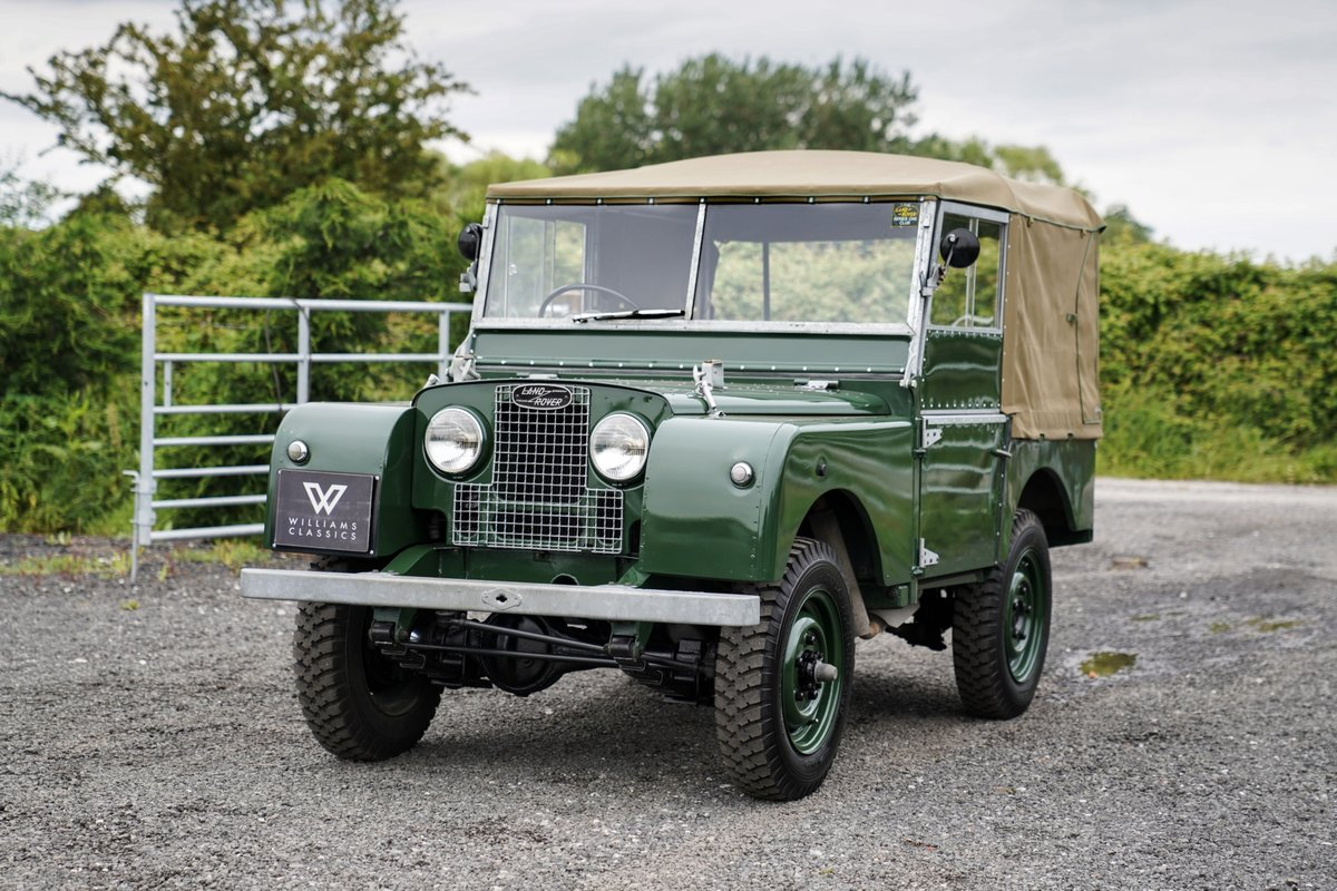 """1953 Land Rover Series 1 80"""" Ken Wheelwright Restoration SOLD (picture 1 of 6)"""