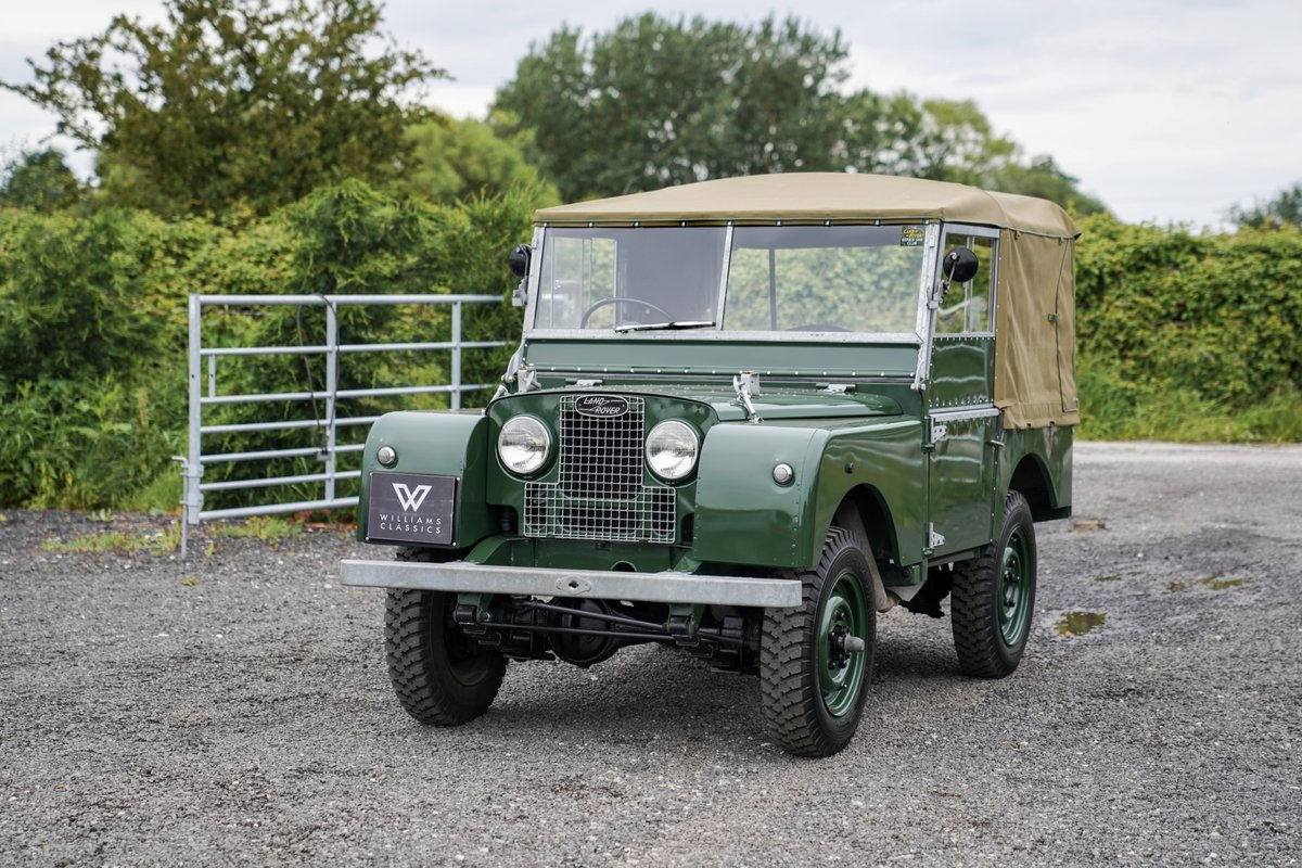 """1953 Land Rover Series 1 80"""" Ken Wheelwright Restoration SOLD (picture 2 of 6)"""
