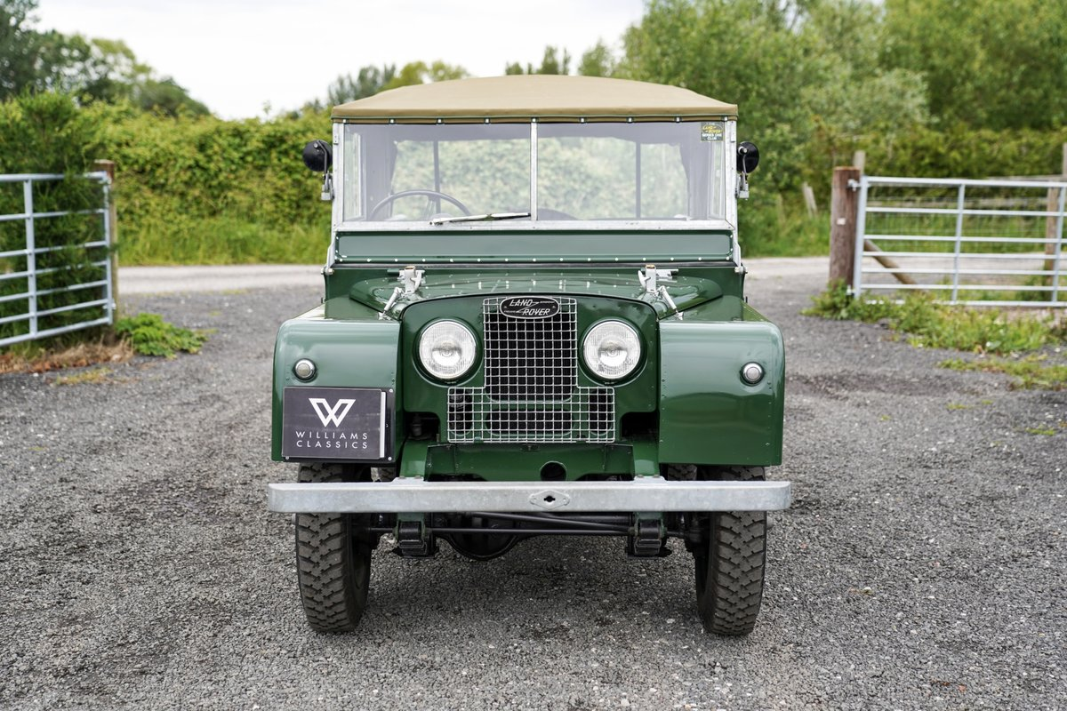 """1953 Land Rover Series 1 80"""" Ken Wheelwright Restoration SOLD (picture 3 of 6)"""