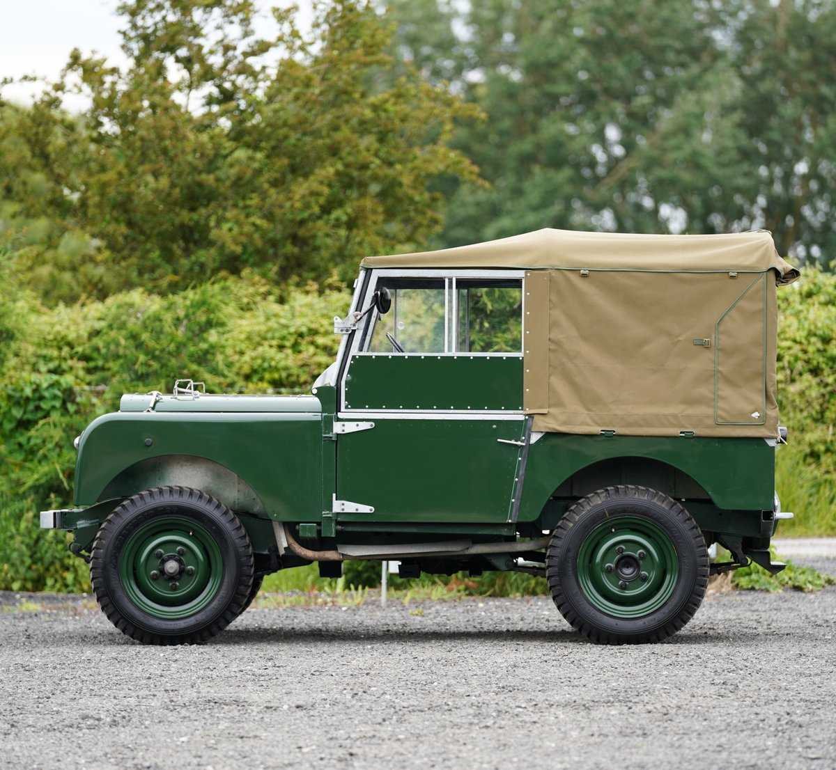"""1953 Land Rover Series 1 80"""" Ken Wheelwright Restoration SOLD (picture 4 of 6)"""