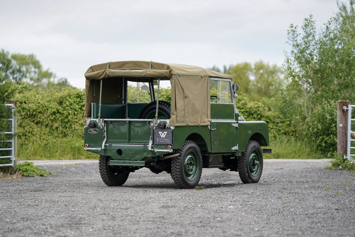 """1953 Land Rover Series 1 80"""" Ken Wheelwright Restoration SOLD (picture 5 of 6)"""