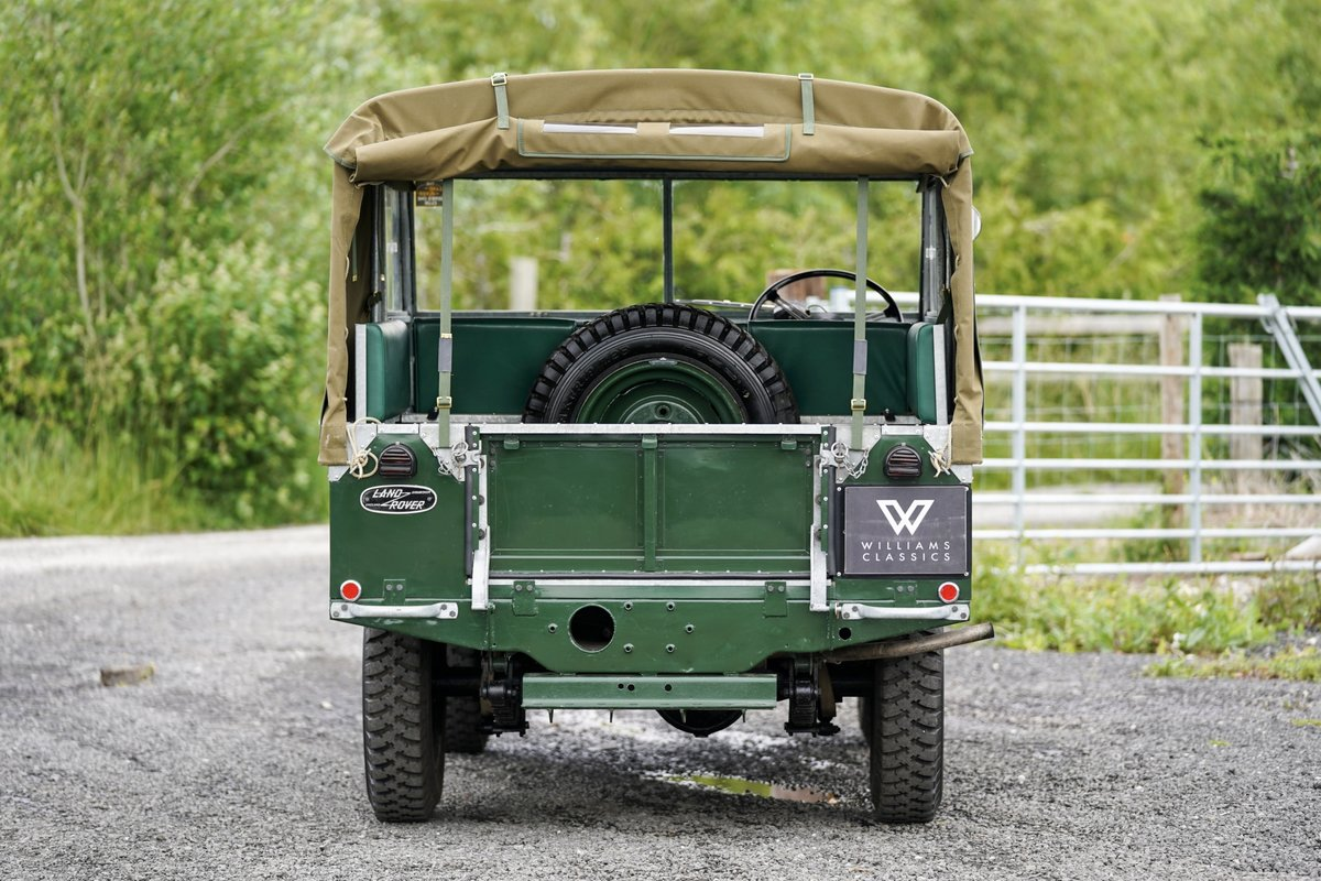 """1953 Land Rover Series 1 80"""" Ken Wheelwright Restoration SOLD (picture 6 of 6)"""