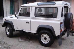 2009 Defender 90  Left Hand Drive, very low mileage For Sale